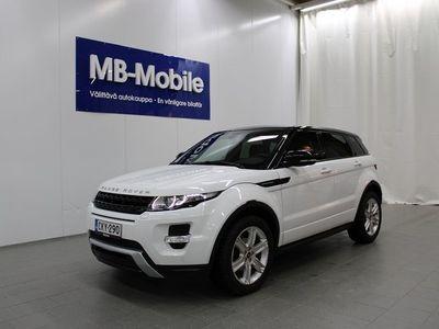 käytetty Land Rover Range Rover evoque 2,2 SD4 Prestige Aut / Navigointi / Panorama / Meridian / Vetokoukku