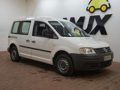 käytetty VW Caddy 2,0 SDI 51 kW / Lohkolämmitin / Liukuovet molemmin puolin / Vähän ajettu Caddy!
