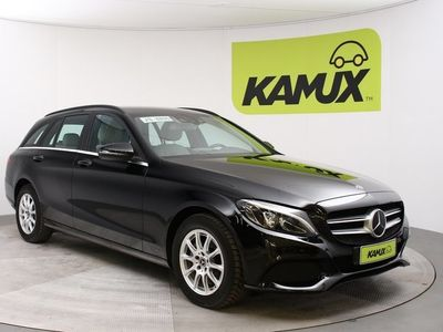 käytetty Mercedes C200 d T A Business // Adapt.cruise / HUD / Navi / LED-ajovalot //