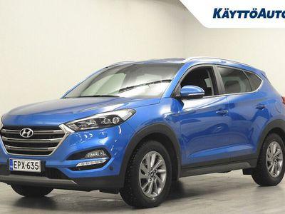 käytetty Hyundai Tucson 1.7 CRDI 7DCT-AUTOMAATTI