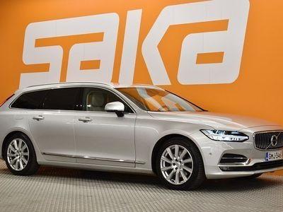 käytetty Volvo V90 D4 Business Inscription aut ### NORMAL FRIDAY -hinta! ###** 1.om. Suomi-auto / Webasto / Adapt.Vakka