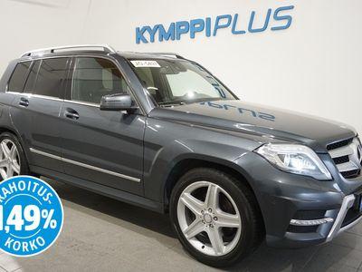 käytetty Mercedes GLK220 CDI BE 4Matic A AMG *KOUKKU / NAVI / WEBASTO / RAHOITUSKORKO 1,49%*
