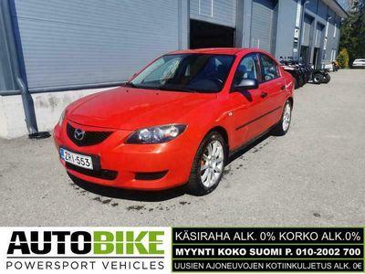 käytetty Mazda 3 (KÄSIRAHA 0%, KORKO ALK.0%)