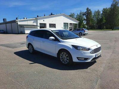 käytetty Ford Focus 1,0 EcoBoost 125 hv Start/Stop M6 Titanium Wagon