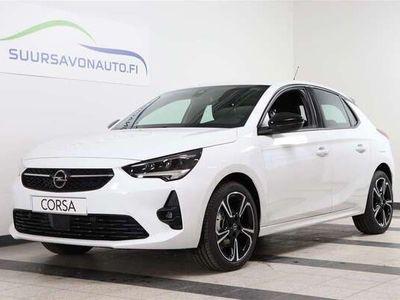 käytetty Opel Corsa 5-ov GS Line 130 Turbo A **VALMIINA AJOON PAKETILLA - LED AJOVALOT / KAMERA / KEYLESS**