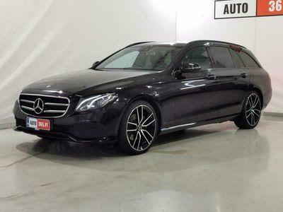 """käytetty Mercedes E220 E4Matic *KOUKKU *BURMESTER *NIGHTPAKET *20"""" AMG TODELLA NÄYTTÄVÄ EEMELI!"""