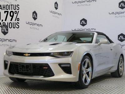 käytetty Chevrolet Camaro Convertible 6,2 L V8 298kW AT6 * Vaihto * Rahoitus 0,89% * Takuu *
