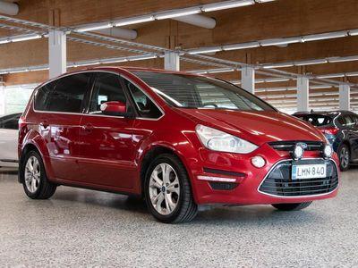 käytetty Ford S-MAX 2,0 TDCi 140 hv PowerShift Titanium Business A6 / 7H / Suomi-auto