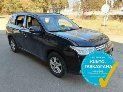 käytetty Mitsubishi Outlander *KOTIINTOIMITUS* 2,2 DI-D Instyle NAVI A 4WD 7P Business. Tarkastettuna, Rahoituksella, Kotiin toimitettuna!
