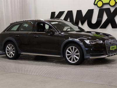 käytetty Audi A6 Allroad quattro Business Sport 3,0 V6 TDI 160 kW quattro S tronic / ILMA-ALUSTA / VETOKOUKKU / NAHKAVERHOILU /