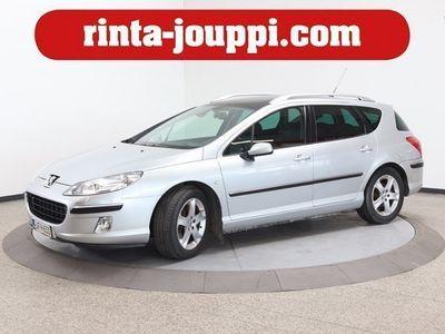käytetty Peugeot 407 SW Sport 2,2 - Tilava Iso panorama kattoikkuna! Sport malli!