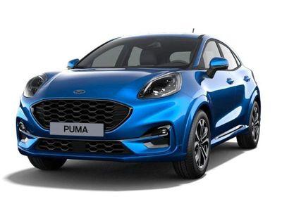 käytetty Ford Puma 1,0 EcoBoost Hybrid (mHEV) 125hv M6 ST-Line 5-ovinen - Korko 0,0% + kulut! Black Week tarjous!