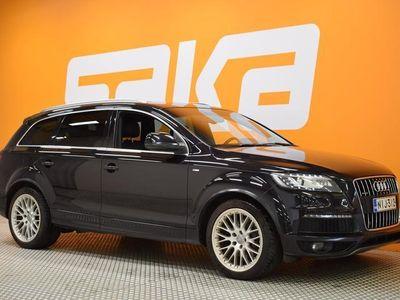 käytetty Audi Q7 4,2 V8 TDI DPF 250 kW quattro tiptronic-autom. S-line 7-ist ** Suomiauto / NAVI / BOSE / Ilma-jousit