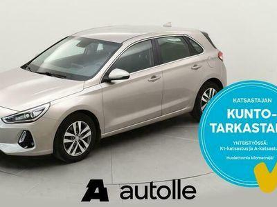 käytetty Hyundai i30 *NÄYTTÄVÄ*1.4 T-GDI Comfort Limited 103kW Man. Tarkastettuna, Rahoituksella, Kotiin toimitettuna!