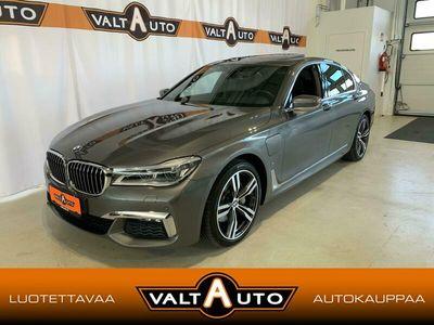 käytetty BMW 740 740 G11 Sedan e iPerformance M-Sport *Soft Close* Adaptiivinen* 360* Keyless*