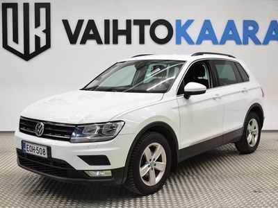 käytetty VW Tiguan Comfortline 2,0 TDI SCR 110 4MOTION DSG-Autom # Webasto, Navigaattori, Vetokoukku, Bluetooth #