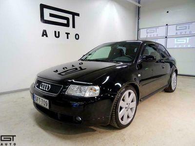 käytetty Audi S3 1,8t Quattro 3d, 18-Alut, Xenon, Aut-ilmastointi, Recaro, Lohko+Sisäp, Huoltokrj, Ryhdikäs S3! Jopa ilman käsirahaa!
