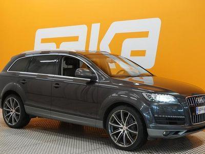 käytetty Audi Q7 3,0 V6 TDI DPF 180 kW quattro tiptronic-autom. Start-Stop 7-ist. ** Suomi-auto / Ilma-alusta / Webas