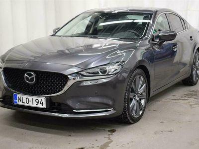 käytetty Mazda 6 Sedan 2,5 (194) SKYACTIV-G Luxury 6AT 4ov *HUIPPUVARUSTEET*