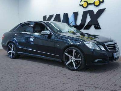 käytetty Mercedes E350 ECDI 4MATIC Sedan (AA) 4ov 2987cm3 A