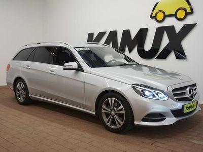 käytetty Mercedes E220 Avantgarde 9G-Tronic **LEDIT / NAVI / SÄHKÖTOIMINEN TAKALUUKKU**