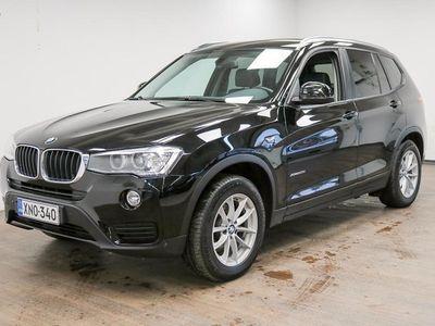 käytetty BMW X3 F25 xDrive20d A Business **Suomi-auto, Sport-Istuimet, 1/2 Nahat, Webasto, Xenon, Vetokoukku, Hyvä h