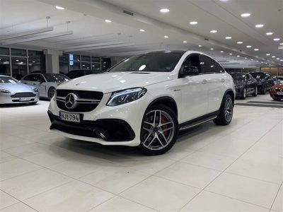 käytetty Mercedes GLE63 AMG GLE Mercedes-AMGS Coupé 4Matic Bang & Olufsen, Driving Package, Panorama, Webasto, Viihdepaketti