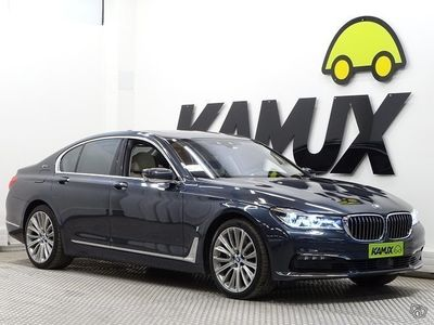 käytetty BMW 740 740 G11 Sedan e iPerformance A Business Exclusive ÖVERIVARUSTEET!!! BOWERS&WILKINS,HIEROVAT ETUPENKIT