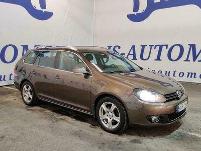 käytetty VW Golf Variant 1,6 TDI Hingline BlueMotion * Hieno ja hyvin varusteltu * Kotiintoimitus * Vaihto ja Rahoitus *