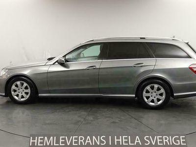 käytetty Mercedes E220 CDI 170hk AMG Skinn Nyservad Navi Drag