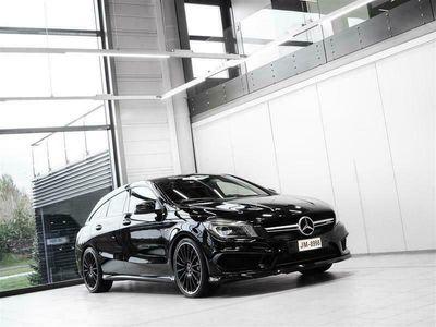 käytetty Mercedes CLA45 AMG Shooting Brake AMG 4Matic Aut + Sport-istuimet + Navi + Harman/Kardon + BiXenon + Tutkat