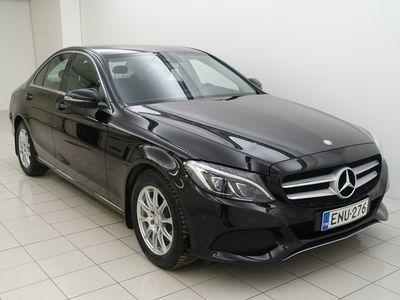käytetty Mercedes C200 BlueTec A Premium Business ** Webasto kauko-ohjaimella // Vetokoukku **