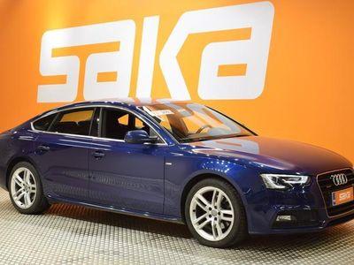 käytetty Audi A5 Sportback 2,0 TDI clean diesel 140 kW quattro S tronic S-LINE ** Xenon / Urheiluistuimet / Koukku /