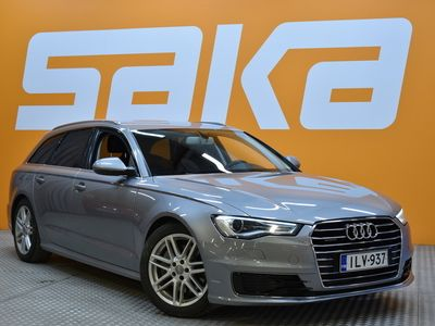 käytetty Audi A6 Avant Business Sport 3,0 V6 TDI 200 kW quattro S tronic ** Suomi-auto / Tutkat / BT-media&handsfree