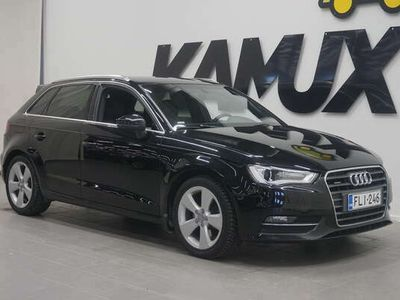 käytetty Audi A3 1,8 TFSI Quattro 132 kW / S-line sisäpaketti / Neliveto /