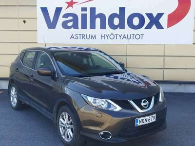 käytetty Nissan Qashqai DIG-T 115 Acenta 2WD Xtronic E6 Safety Pack Connect