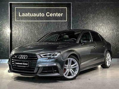käytetty Audi S3 2,0Tfsi S-Tronic 7-Speed Facelift* Daytrona Grey, Bang&Olufsen, Virtual cockpit, Led Matrix, Navi Mmi+,
