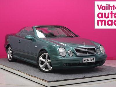 käytetty Mercedes CLK230 Kompressor Cabriolet Sport #Juuri tullut #Nahat #AUX-Liitäntä