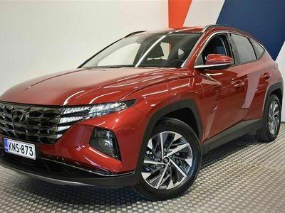 käytetty Hyundai Tucson 1,6 T-GDI 180 hv 48V hybrid 4WD 7-DCT-aut Style MY21 **Tulossa myyntiin, Met.Punainen**