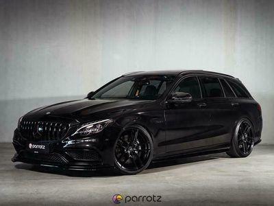 käytetty Mercedes C63 AMG AMG 4.0 V8 BiTurbo * Burmester / Säädettävä putkisto / AMG Performance istuimet / Comand*