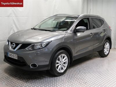 käytetty Nissan Qashqai DIG-T 163 N-Connecta 2WD 6M/T E6 Glass roof