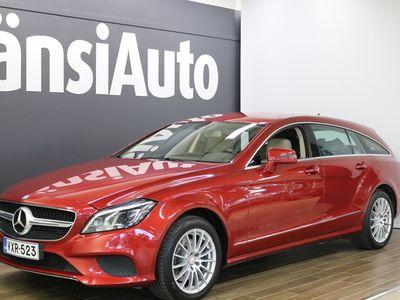 "käytetty Mercedes CLS250 Shooting Brake BlueTec 4Matic, ""Webasto, 1-om, Multibeam LED"" **** LänsiAuto Safe -sopimus hintaan 590€. ****"