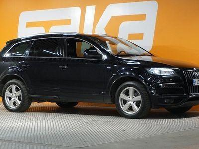 käytetty Audi Q7 3,0 V6 TDI Quattro S-Line TULOSSA MYYNTIIN **Huippuvaruateet / Navi / ACC vakkari / Bose / Blis / 7.