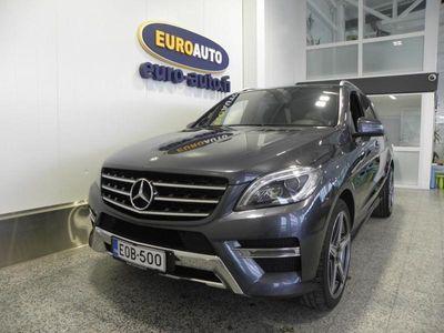 käytetty Mercedes ML350 BLUETEC 4MATIC 2987cm3 Aut. AMG Premium Business 5-HLÖ PAKETTIAUTO, SIS.ALV. PANORAMA, NAHAT, NAVI, BLUETOOTH, USB