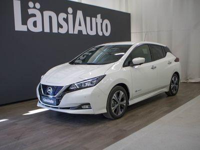 käytetty Nissan Leaf Tekna MY19,5 40 kWh Leather Ultrasuede ProPilot P **** LänsiAuto Safe -sopimus hintaan 590e ****