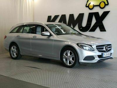 käytetty Mercedes C250 BlueTec 4Matic T A Premium Business // Osanahkaverhoilu / Xenon-ajovalot / Navigointi / Vetokoukku //