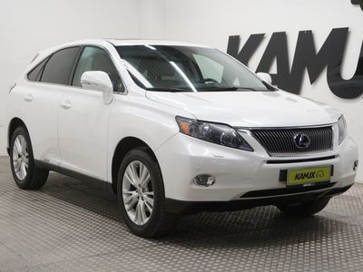 käytetty Lexus RX450h 4WD (Hybrid) # Vakkari # Bluetooth handsfree # Sähköluukku # Kattoluukku # Navi #