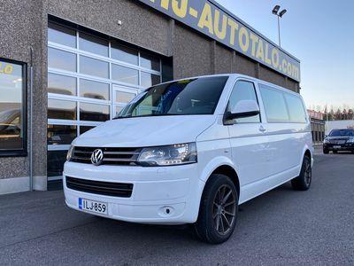 """käytetty VW Caravelle 2.0 TDi 180 HV NELIVETO AUTOMAATTI 9-HENGELLE AUT.ILMASTOINTI WEBASTO PERUUTUSTUTKA VETOKOUKKU 17""""A..."""