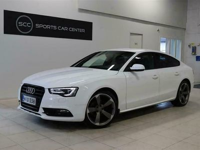 käytetty Audi A5 Sportback Black Edition 1,8 TFSI 125 kW multitronic Rahoitus jopa ilman käsirahaa!