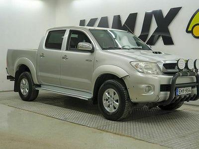 käytetty Toyota HiLux Double Cab 2,5 D-4D 120 4WD DLX